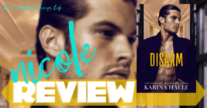 ✔ #NewRelease REVIEW, AUTHOR Q&A, EXCERPT, & GIVEAWAY: DISARM by Karina Halle