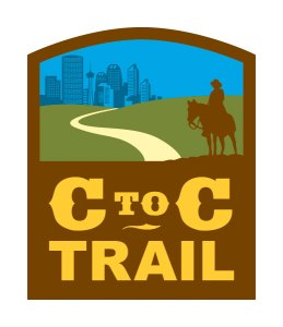 CtoC Trail Sign - Glenbow Ranch Provincial Park