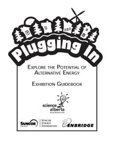 Plugging In - Alberta Science Foundation