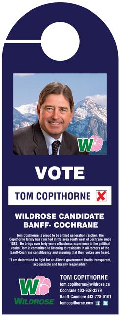 Tom Copithorne Doorknob Flyer