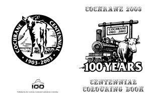 Cochrane Centennial Celebration