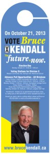Bruce Kendall Doorknob Flyer
