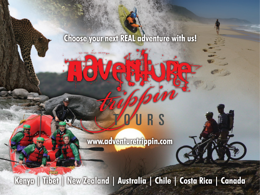 Adventure Trippin Tours (8' x 10' wall display)