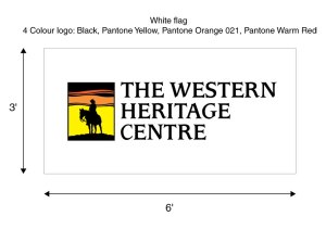 The Western Heritage Centre Flag