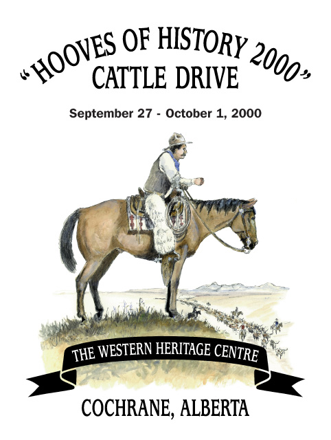 Hooves of History 2000 Cattle Drive