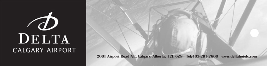 Delta Calgary Airport Bookmark
