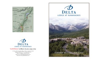 Delta Lodge at Kananaskis Summer