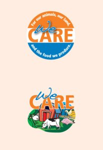 We Care Temporary Tattoo