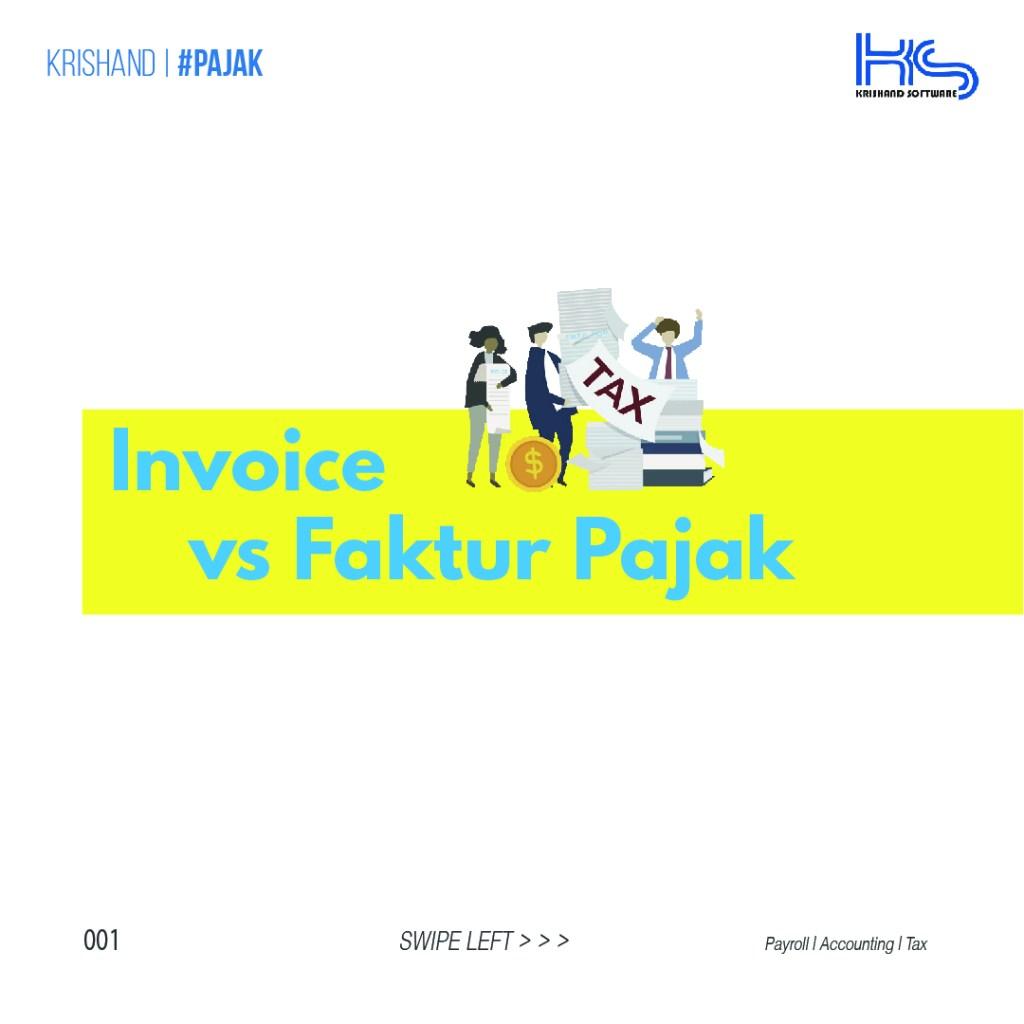 Faktur (Invoice) dan Faktur Pajak