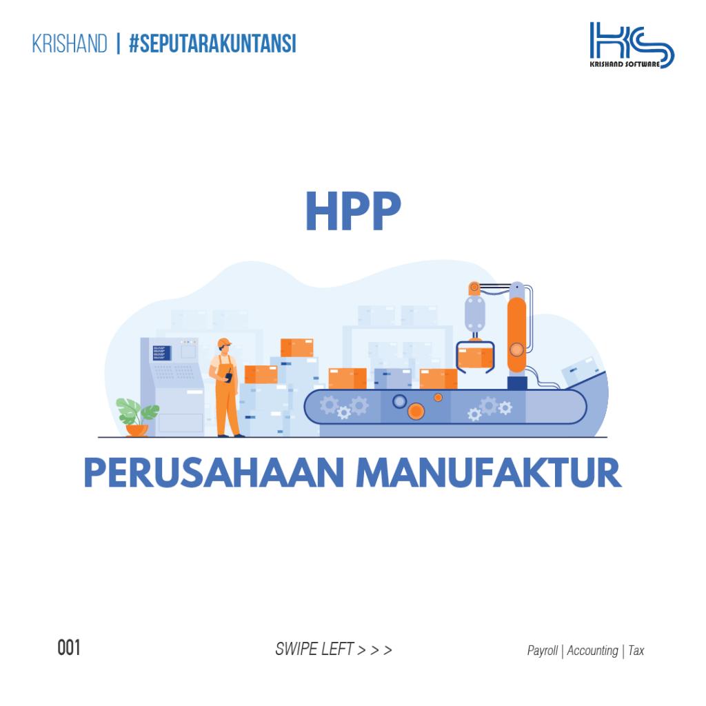 HPP Perusahaan Manufaktur