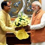 मुख्यमंत्री श्री चौहान की प्रधानमंत्री श्री नरेन्द्र मोदी से मुलाकात
