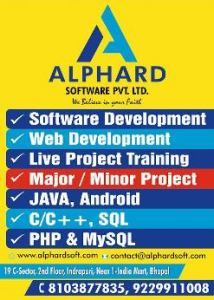 Alphard Sofwares Private Limited