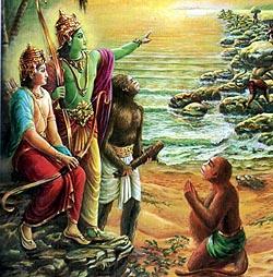 Raamaa and Vaanaraas