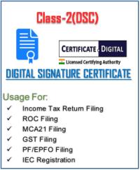 class-2 Digital Sign