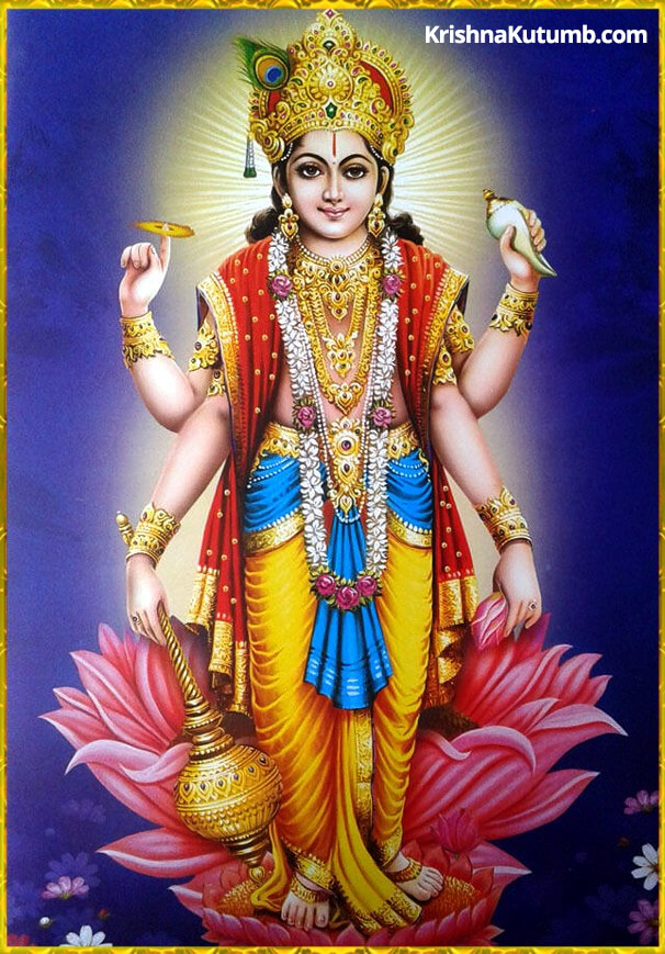Dioses Hindúes - Vishnu es el operador