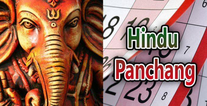 hindu Panchang 2018