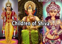 Children of Shiva - Ganesha, Kartikeya, Ashok Sundari - Krishna Kutumb