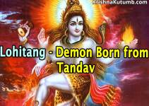 Lohitang - Baby born from Tandav - Creation of Planet Mars - Krishna Kutumb