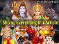 Shiva - Complete Life Story in Single Article - Krishna Kutumb