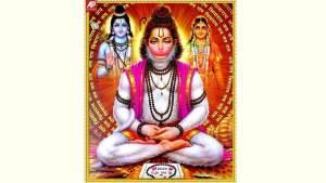 Lord Hanuman Photo Frame - Krishna Kutumb™