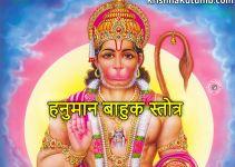 हनुमान बाहुक स्तोत्र - गोस्वामी तुलसीदास द्वारा रचित - krishna kutumb