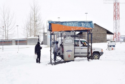 Kaza Indian Oil Petrol pump