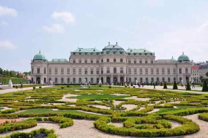 Palacio Belvedere en Viena: esplendor barroco - Kris por el mundo ...