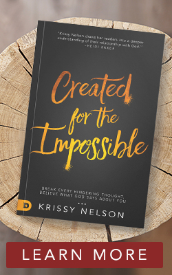 created for the impossible book