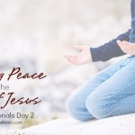 Finding Peace at the Feet of Jesus