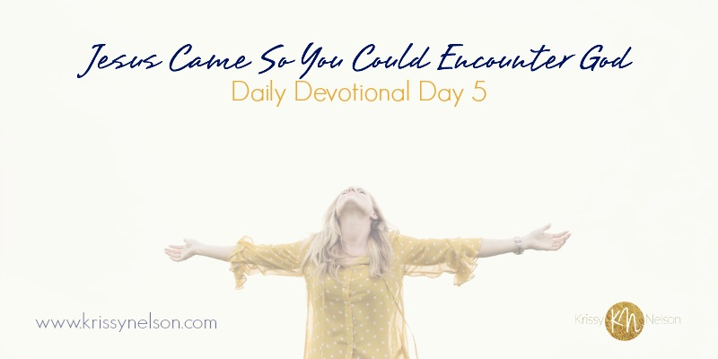 Jesus Came So You Could Encounter God
