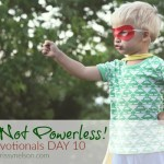 You Are Not Powerless!
