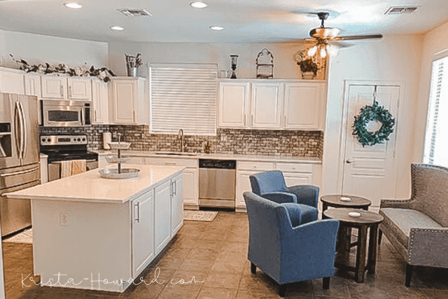white painted kitchen cabinets Vintage And Restore By K