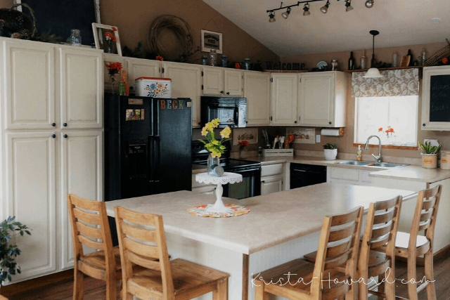 painted kitchen cainets