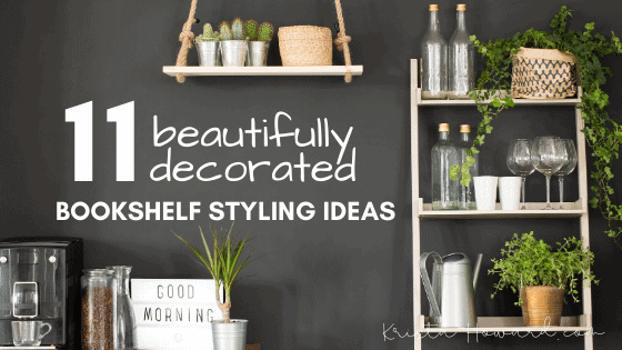Decorated Bookshelf Ideas