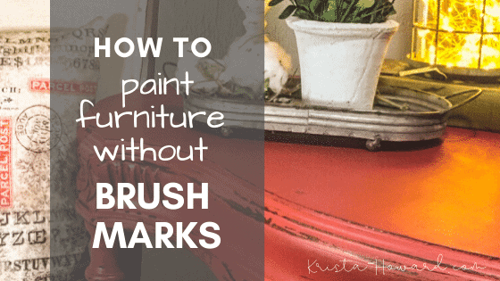 How to Paint Furniture without Streaks