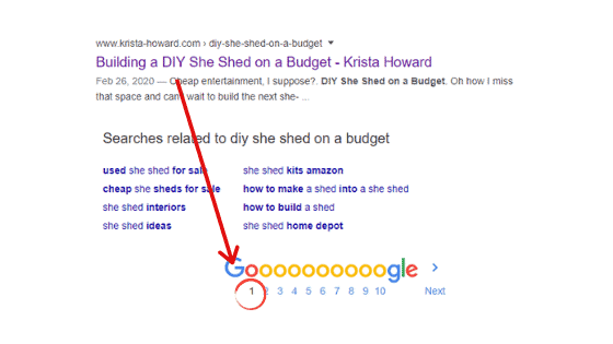 Google Rank Page 1
