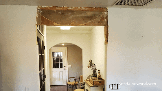Archway Cut to Squared Off