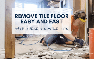 DIY Tile Removal