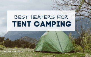 best heaters for tent camping