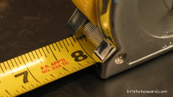 Lines on a Tape Measure