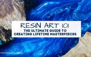 Resin Art 101: A Beginners Guide