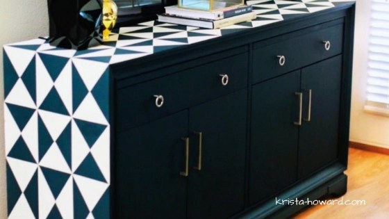 How to Paint Furniture Black