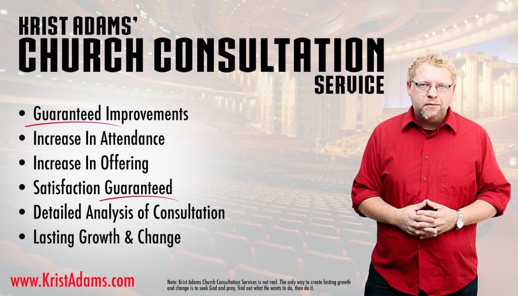 Krist Adams church consultation