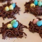 Simple Chocolate Nests with Mini Eggs