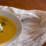 Roasted Curry Butternut Squash Soup