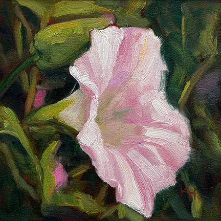 Morning Glory – Day 6 of 30 by Krista Hasson - SOLD