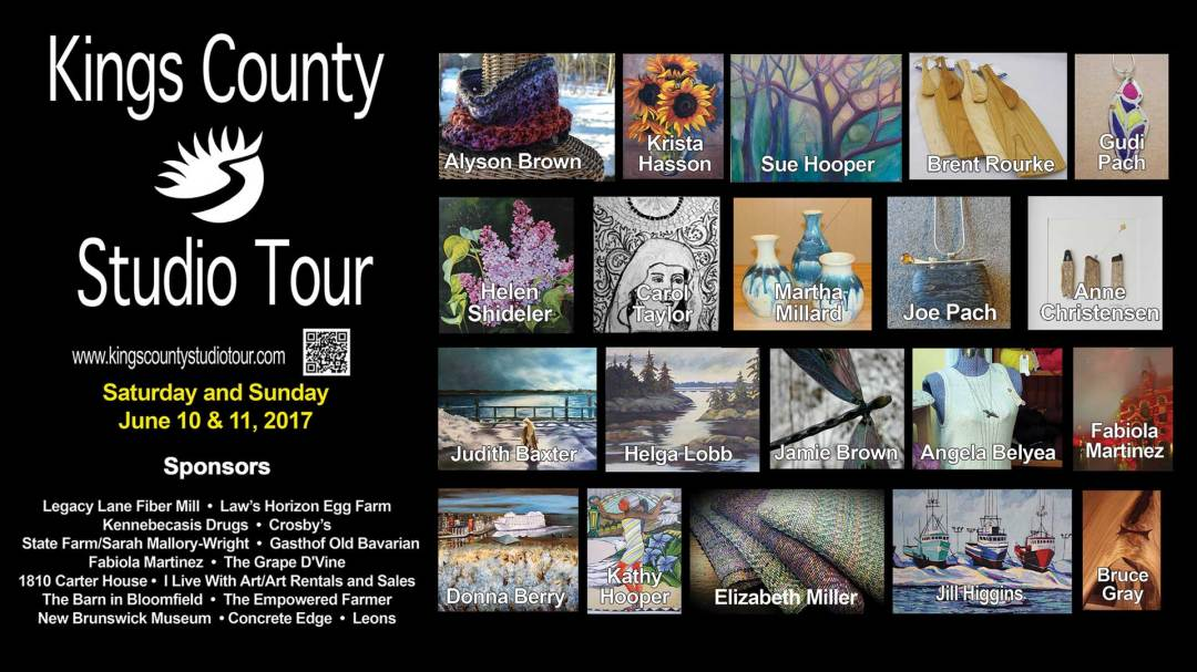 Visit my Studio – Kings County Studio Tour 2017
