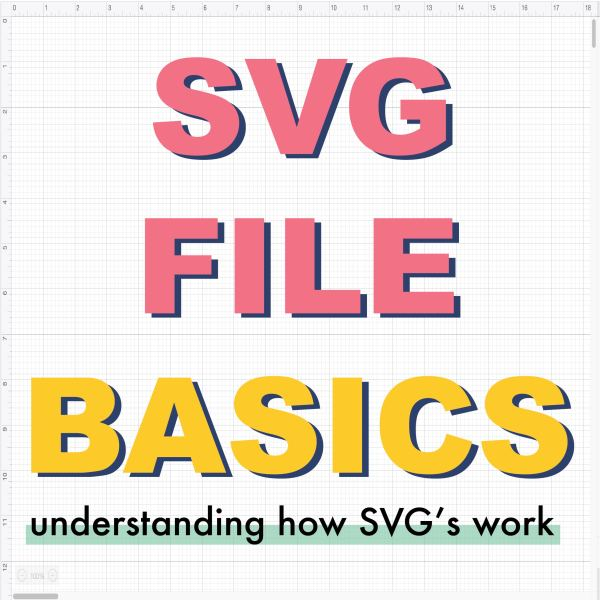 SVG File Basics –  What is an SVG?
