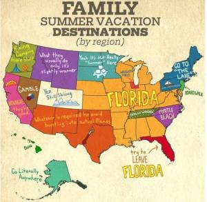 Vacation map
