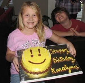 HAPPY BIRTHDAY to my KARALYNN!!!!!